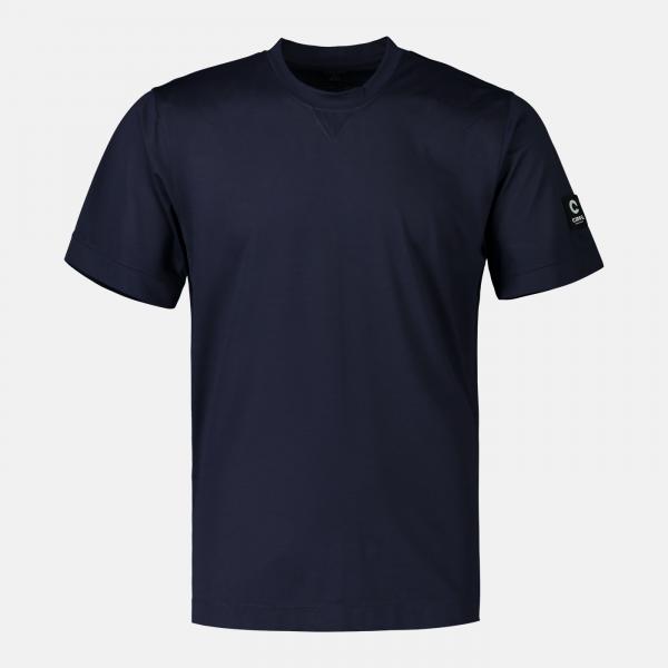 Blå t-shirt, OEKO-TEX certifierat tyg